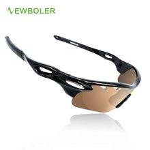 NEWBOLER 3 Polarized Lenses Fishing Glasses Men Women Fishing Eyewear Hiking Climbing Driving Sunglasses Night Sport Goggles
