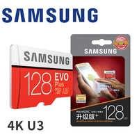 Cartão de memória de samsung micro sd 256 gb 32 gb 64 gb 128 gb sdhc sdxc classe evo + classe 10 c10 uhs tf cartões sd flash trans microsd