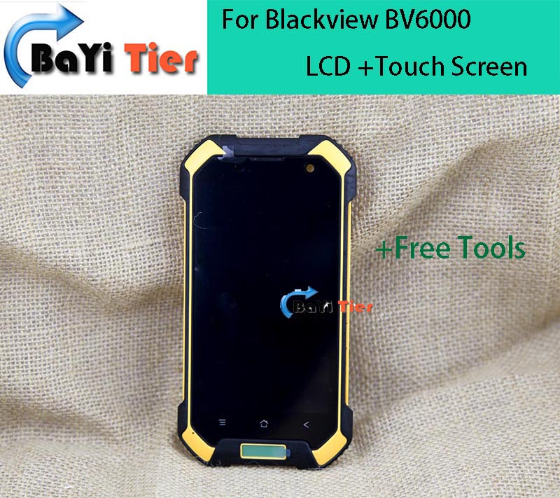 LCD Screen For Blackview BV6000 100% Newest Replacement Accessories LCD Display+Touch Screen for Blackview BV6000 Smartphone