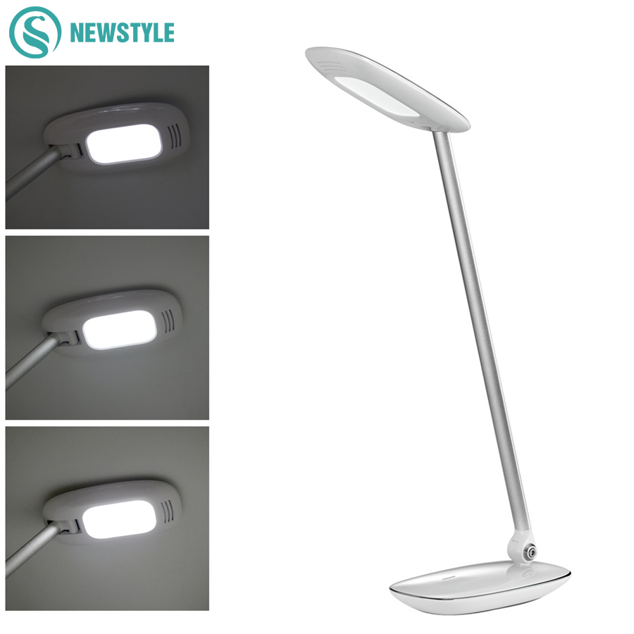 LED Eyesight Protection Foldable Desk Lamp,With Touch Switch 3 modes lighting 9W table lamp with Power Bank Function touch switch eye protection table lamp with free shipping