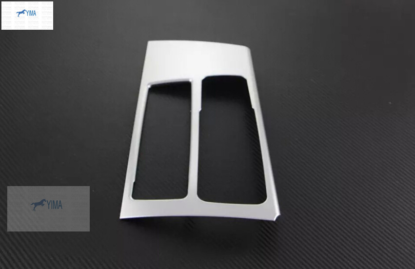 Lapetus ABS Pearl Chrome Stalls Caja de cambio de marchas Soporte - Accesorios de interior de coche - foto 3