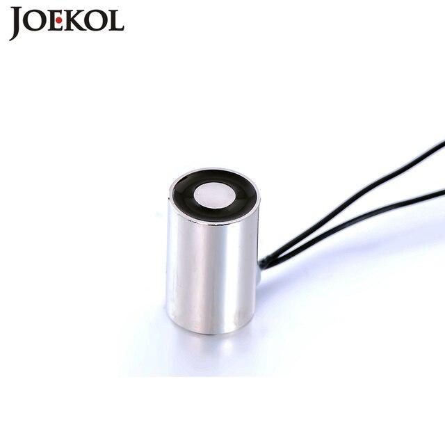 High quality JK08/25 DC 6V 12V 24V Solenoid Sucker Holding Electric Magnet Lifting 0.2KG Electromagnet Non-standard custom