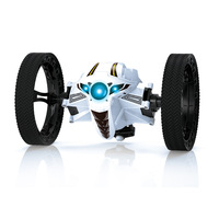 2.4G Remote Control Toys RC Car Bounce Car Jumping Car with Flexible Wheels Rotation LED Night Light RC Robot Car 3 color