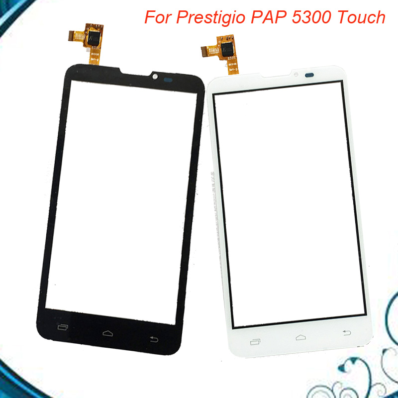 New Touch Screen For Prestigio MultiPhone 5300 Duo PAP5300 Touch Screen PAP 5300 Digitizer Glass Panel 5pc/lot