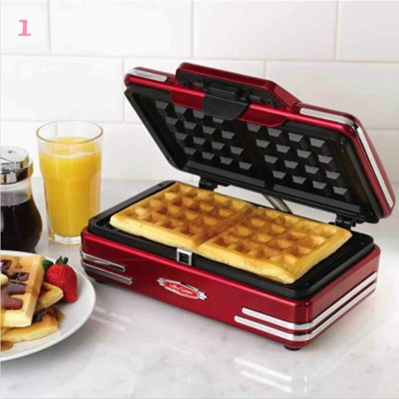 Echt Wafel Machine Thuis Elektrische Bakpan Muffin Machine