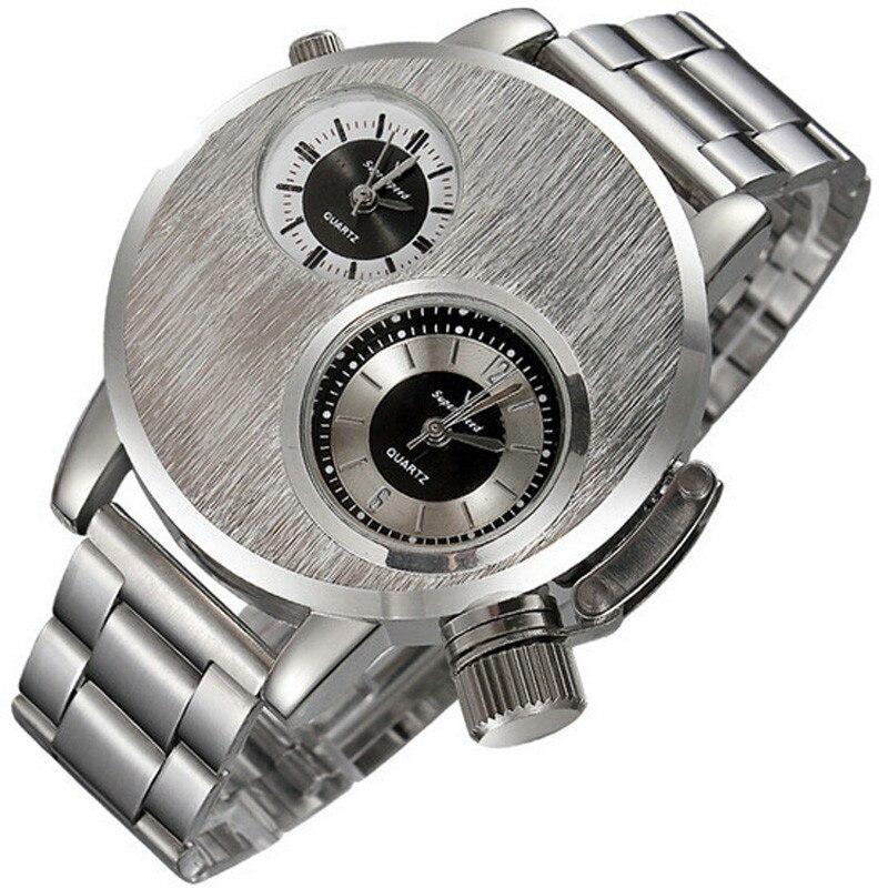 Watches Men Solider Military Army Silver Dial Army Sport Style Quartz Wristwatch Bangle Bracelet relogio masculino reloj hombre цена и фото