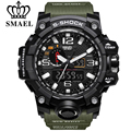 2017 Brand Watch Men Sports Watches Dual Display Analog Digital LED Electronic Quartz Watch Waterproof Swimming Military Watches