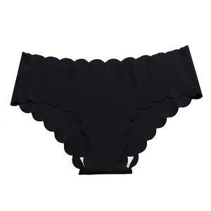 Image 5 - 3 PCS סקסי תחתוני נשים חלקה תחתונים גבירותיי אינטימית נקבה סקסיים נשים תחתוני אישה חלקה תחתונים