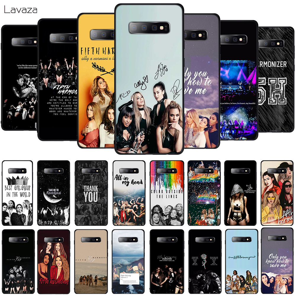 Lavaza Fifth Harmony Soft Phone Cover for Samsung Galaxy S8 S9 S10 Plus A6 A8 A9 2018 A30 A50 TPU Case