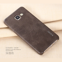 X Level Retro Luxury Phone Cases For Samsung Galaxy A7 2017 A720 Leather Soft Cover Case
