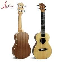 Mcool 23 inch Concert Ukelele Ukulele Spruce Panel Sapele Back Plate Rosewood Fingerboard Hawaii Mini Guitar Uke