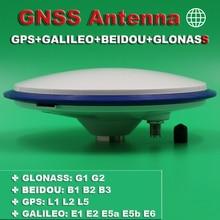 BEITIAN 3 V 6 V מקלט CORS לסקר RTK GNSS אנטנה גבוהה דיוק גבוהה רווח IRN BDS GAL GLO GPS אנטנה ZED F9P TNC K, BT 200