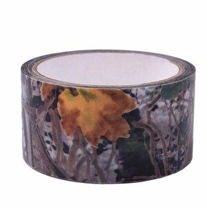 Image 5 - 5 センチメートル x 4.5 メートルステルステープ陸軍迷彩屋外狩猟撮影ツールサイクリングテープ防水ラップ丈夫な迷彩テープ