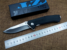 KESIWO Flipper Folding Knife ZT0303S D2 blade G10 Handle outdoor tactical survival Knife utility camping hand tool