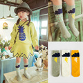 Children socks long socks  new arrival Unisex cotton striped kids socks 0  to 6  years old fashion comfortable  1 pair