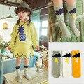 Crianças meias meias longas new arrival Unisex algodão listrado meias crianças 0 a 6 anos de idade moda confortável 1 par