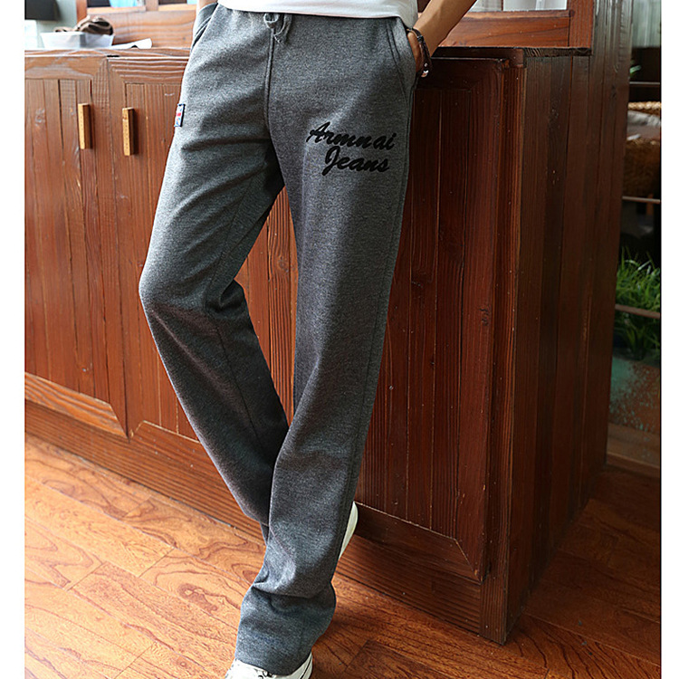 New Mens Chino Pants Long Trousers 2018 Mens Casual Plus Size Pants Outerdoor Wear Pants Soft Comfortable Casual Loose Trousers