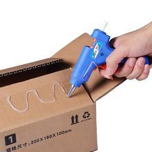 20 Вт ЕС Plug Термоклей Пистолет Профессиональный Высокая Температура Нагревателя ремонт Инструменты Тепла Пистолет в колле С 1 шт. Клей-Карандаш HA10493