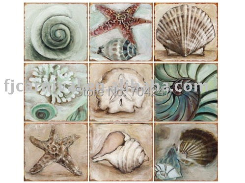 Metal sign for wall decoration / 9 pieces tin sign for one set / Free customer design + Rush delivery