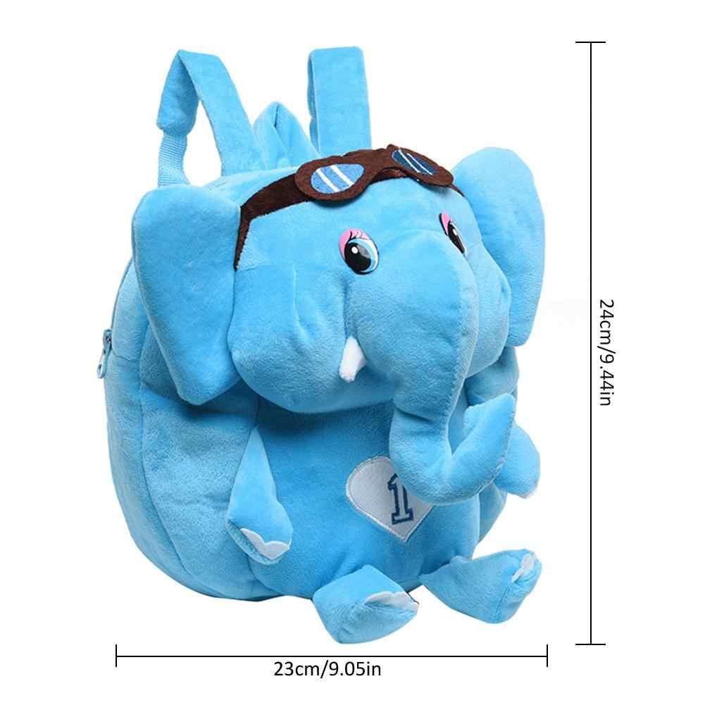 ... Children Backpack 1-3 Years Old Elephant Kid School Bag Backpack  Cartoon Cute Schoolbag Causal 459fa3bf8f712