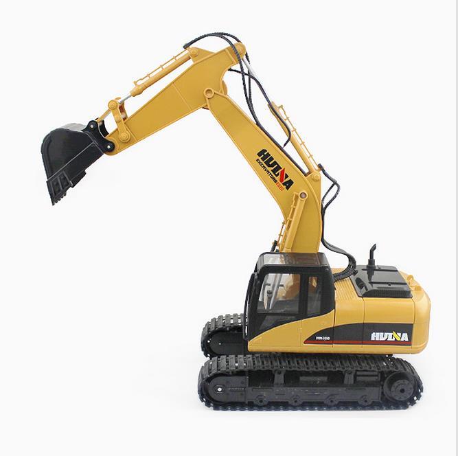 Carros de Brinquedo para Passeio escavadeira escavadeira cobrando rc carro Canais de Controle : 12 Canais e Superior
