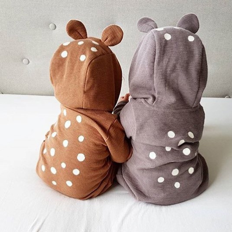 Children Clothing Spring And Autumn Baby Conjoined Bear New Born Baby Clothes Jumpsuit Toddler Girls Rompers Baby Wear cartoon rabbit bear baby romper children clothes spring toddler jumpsuit newborn infant clothing wear roupas de bebes