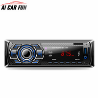 RK522 Bluetooth Car MP3 Player Car Radio Plug In Card Car Multimedia Player Media Player 12V