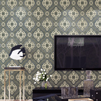 Vintage Classic Modern Damask Feature Wall Paper Roll Wallpaper For Living Room Bedroom Contact Paper Home