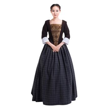 Outlander Cosplay Outlander Jenny Fraser Murray Dress Medieval Costume Halloween Carnival Party Costume Cosplay For Women