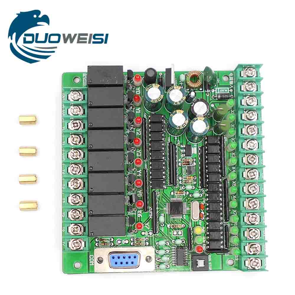 PLC IPC board microcontroller control board relay board PLC FX1N-20MR FX1N 20MR ipc board pia 662 sent to the cpu memory used disassemble