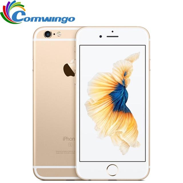 "Original apple iphone 6s ram 2 gb 16 gb rom 64 gb 128 gb 4.7 ""ios duplo núcleo 12.0mp câmera impressão digital 4g lte desbloqueado phone6s móvel"