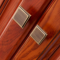 Free Shipping Solid Single Hole Drawer Knob Furniture Door Hardware Wardrobe Cabinet Shoe Door Closet Handle