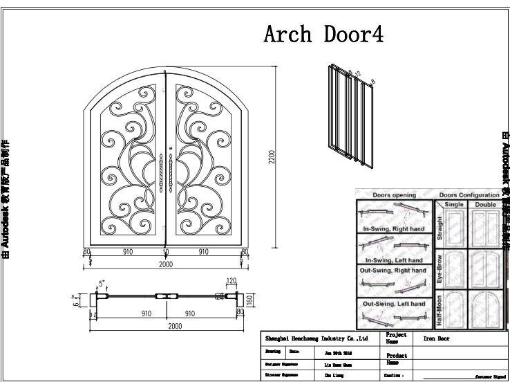 Wrought Iron Exterior Door Handles Wrought Iron Door Panels
