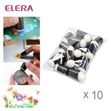 Daubers ELERA 200 pçs/lote Dedo de Espuma para Aplicar Tinta Giz Tinta Coloração Que Alteram A Qualquer Projeto de Artesanato Pintura A Dedo Desenho