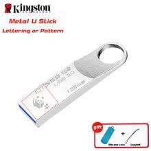 Kingston USB-Stick USB3.0 128 gb Pendrive usb 3.0 Fllash Stick Geburtstag Persönlichkeit Geschenk cle usb Memory Stick Pen Drive