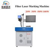 Desktop fiber laser metal marking engraving machine Raycus MAX 20/30/50w 200*200mm Laser cutter