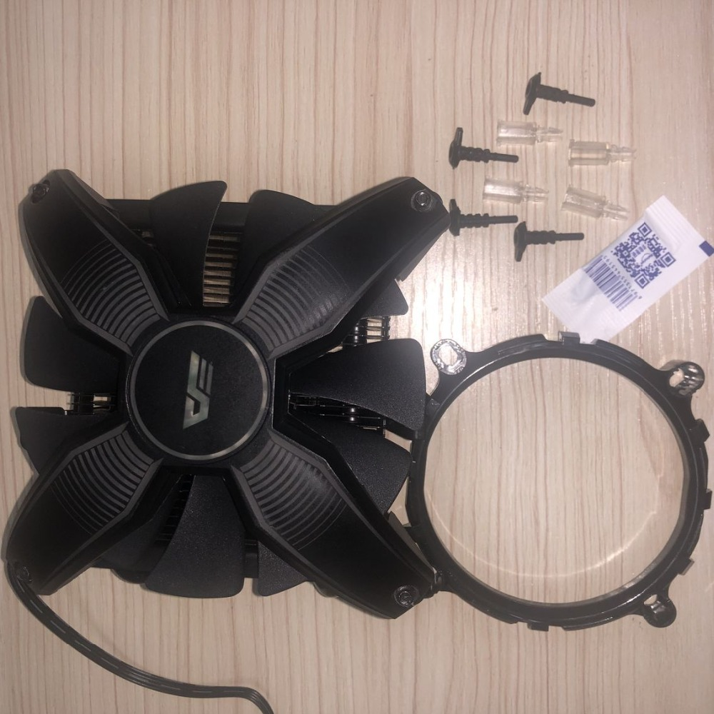 Image 5 - darkFlash Aigo Computer Case CPU Cooler Radiator 4 copper tube Processor Cooler  CPU Cooler Cooling Fan for Intel AM2/AM3/AM4-in Fans & Cooling from Computer & Office