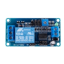 цена на Single Channel Time Delay Relay Module Control Board DC5V FC-32