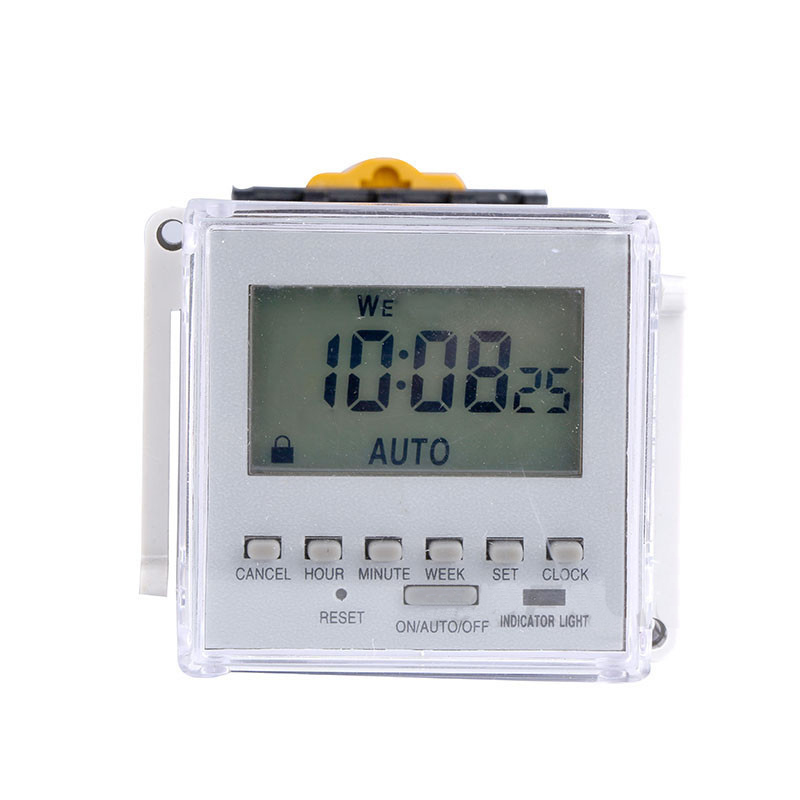 Microcomputer Street Lamp Time Controller Switch Panel Type 220V Mini in Timers from Tools
