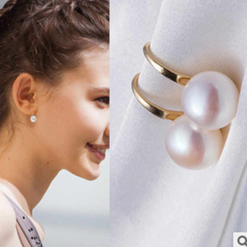 2017 new fashion After the popularity of Imitation pearls earrings Jewelry earrings Wholesale