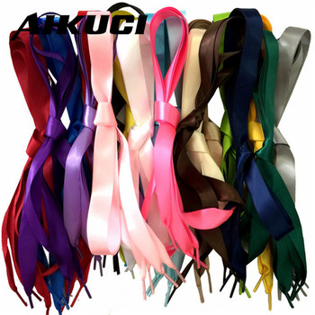 1 Pair DIY Princess Colorful Women lady Shoelaces Flat Silk Ribbon Shoe Laces Sneaker Athletic Sport Shoes Fantastic 2mm 110cm online shopping in pakistan with free home delivery