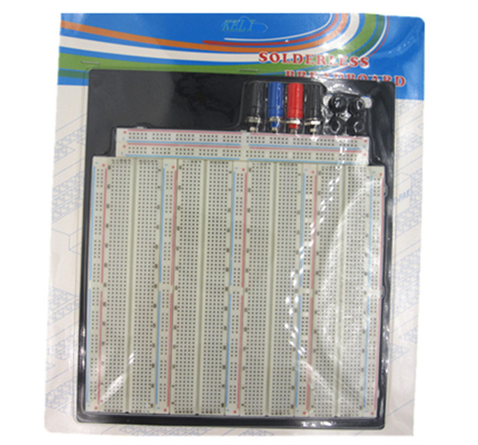 3220 Hole Point Solderless Breadboard Welding Free Circuit Test Board ZY-208 MB-102 Breadboard msp430 development board microchip msp430f149 program breadboard