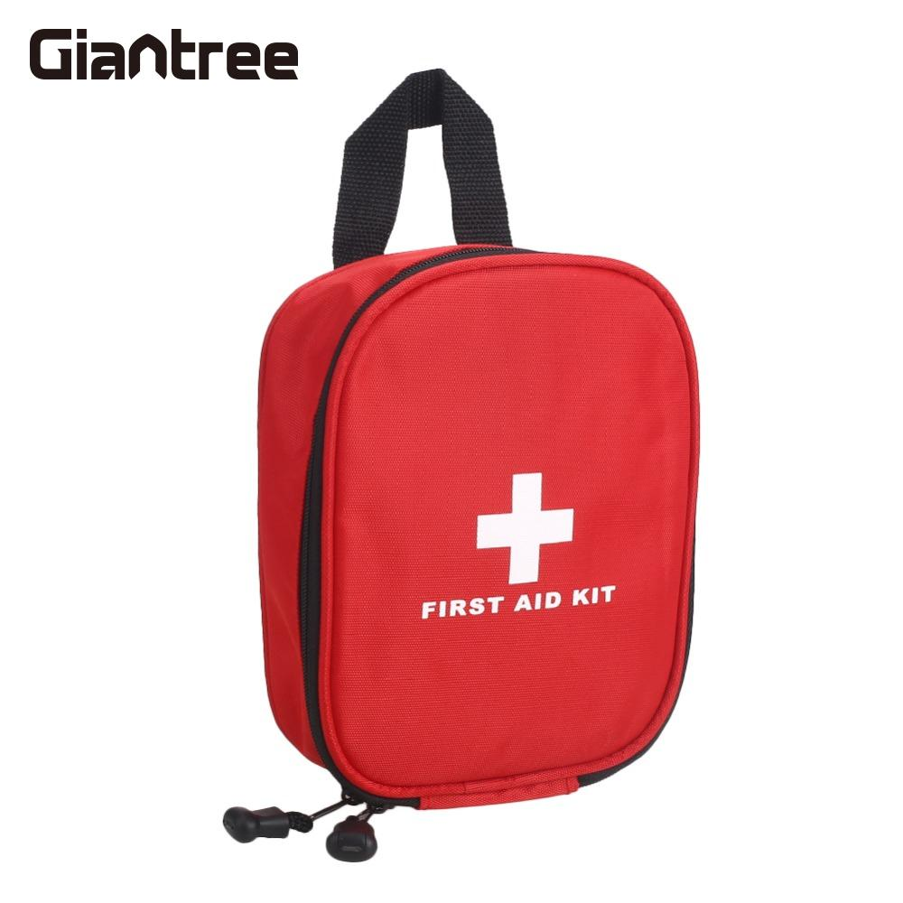 giantree Portable 130pcs/Set First Aid Kit Medical Emergency Bag Lightweight Camping  Hiking Treatment Pack new gbj free shipping home aluminum medical cabinet multi layer medical treatment first aid kit medicine storage portable