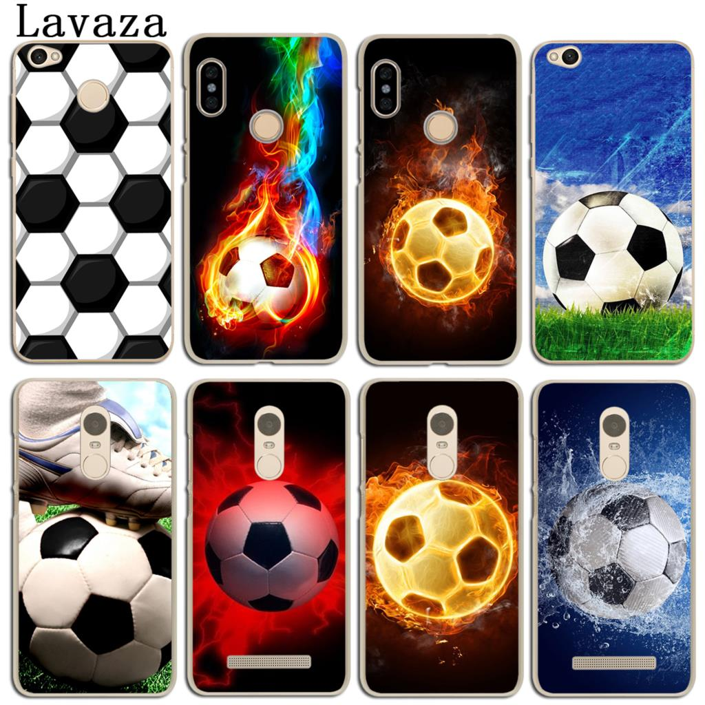 Lavaza Sports Soccer Football Phone Case for Xiaomi Redmi 4X Mi A1 6 5 5X 5S Plus Note 5A 4A 2 3 3S 4 Pro Prime 4X MiA1 Mi6