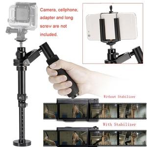 Image 5 - Camera Stabilizer S30 Aluminium Handheld Gimbals Stabilisateur Smartphone Tripod Heads Telefoon Clip Voor SJCAM Gopro 7 Camera
