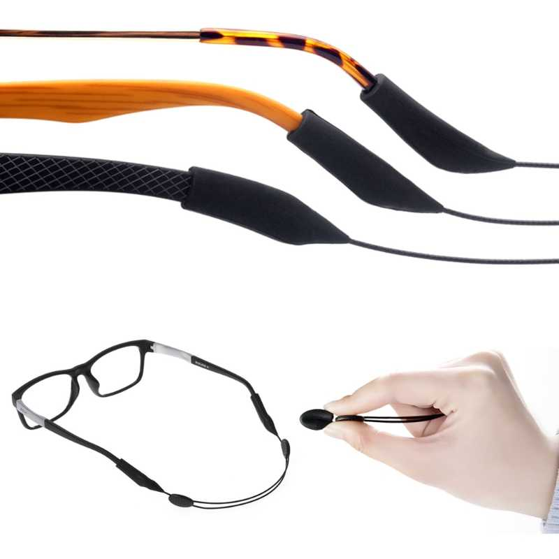 c4a197f4ca3f Detail Feedback Questions about Glasses String Silicone Adjustable ...