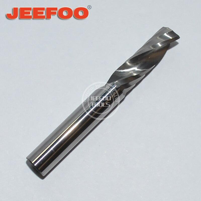 6*17 eine Flöte Spirale Bits Für Aluminium/Hartmetall Wolfram Ende Mühle CNC Maschine Fräsen Cutter Schneiden Bits für Aluminium
