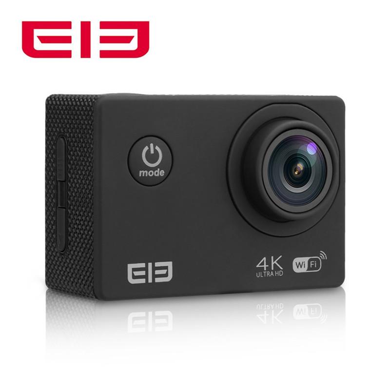 Prix pour D'origine Meilleur Vente Elephone ELE Explorer 2 pouces 4 K Ultra HD 170 Degrés Vue Angle WiFi avec Allwinner D'action caméra