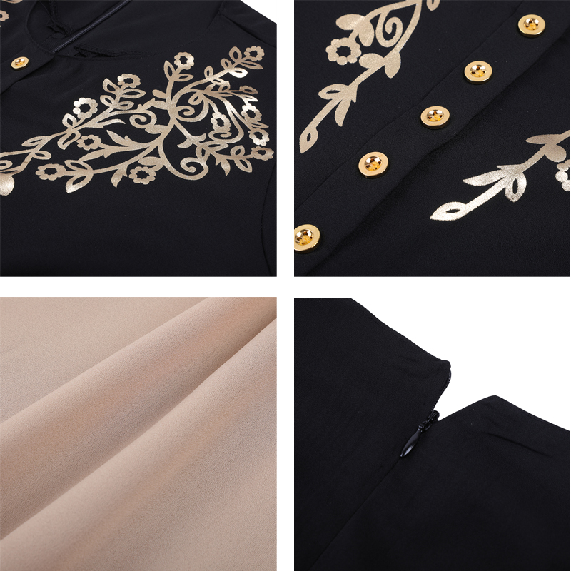 MISSJOY Dubai kaftan Dress Muslim Party Abaya Women Arabic Lace Cardigain Patchwork turkey Islam Prayer caftan marocain dresses 6
