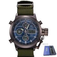 AMST 2019 Moda Digitais Relógio de Quartzo Dos Homens Relógios Top Marca de Luxo Relogio masculino Relógio Masculino Mens Esportes Relógio de Pulso Hodinky